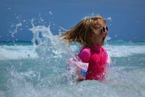 wyjazd z wnukami na wakacje