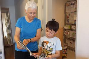 opieka nad wnukami